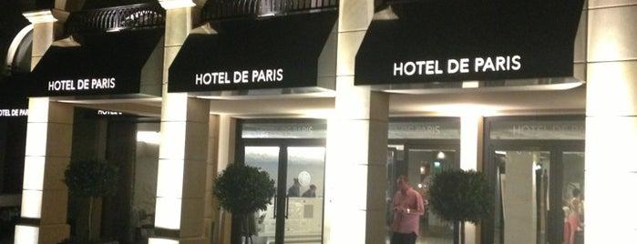 Hôtel de Paris is one of Hotels.