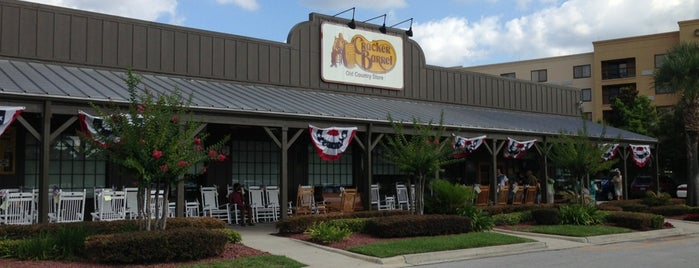 Cracker Barrel Old Country Store is one of The 15 Best American Restaurants in Jacksonville.