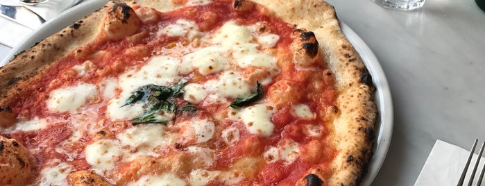 L'Antica Pizzeria da Michele is one of London to try.