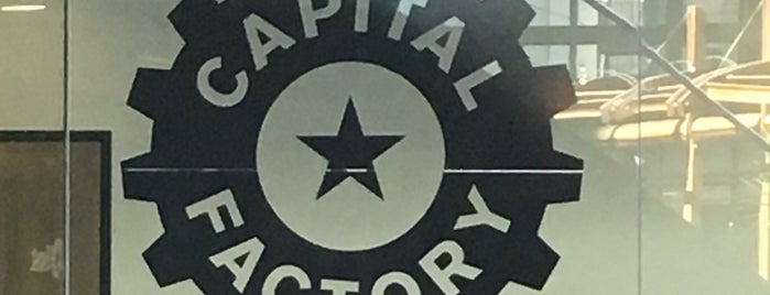 Capital Factory is one of Austin Freelance Work Spots.