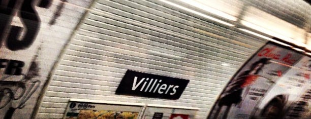 Métro Villiers [2,3] is one of Stations de metro a Paris.