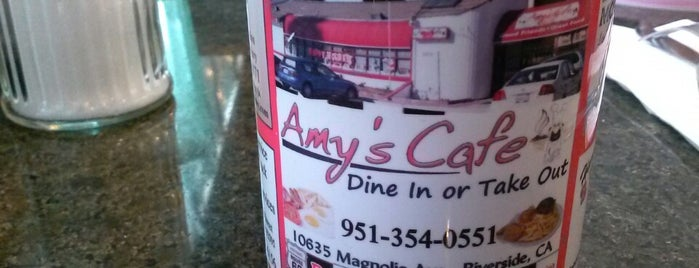 Amy's Cafe is one of The 15 Best Places for Southern Food in Riverside.