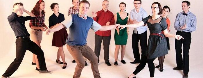 Swingin` Moscow is one of танцы нараёне.