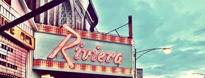 Riviera Theatre is one of Chicago, IL.