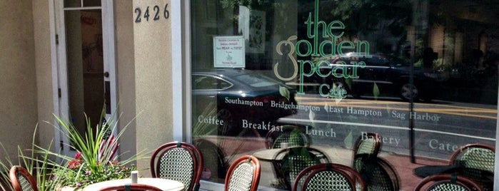 The Golden Pear Cafe is one of Hamptons.