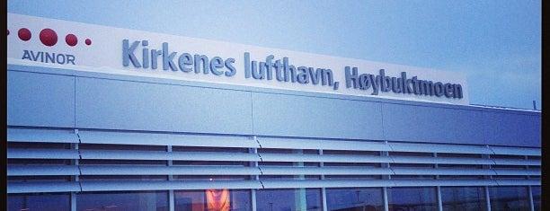 Kirkenes Lufthavn, Høybuktmoen (KKN) is one of World AirPort.
