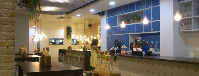 Bacoa Universitat is one of Cheap Eats Barcelona 5-10€.
