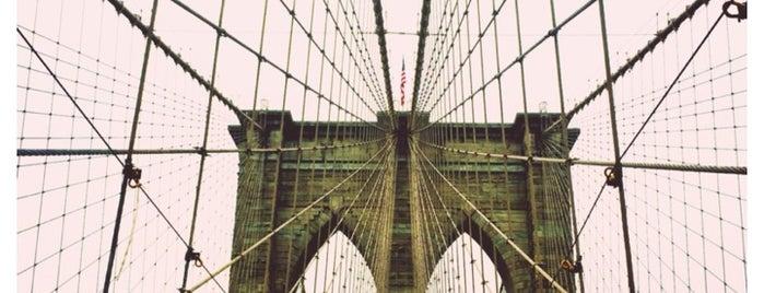 Brooklyn Bridge Promenade is one of My NYC.