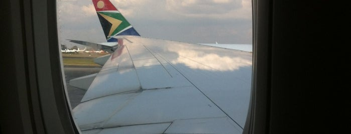 Indaba OR Tambo Int Airport is one of PIRLANTA.
