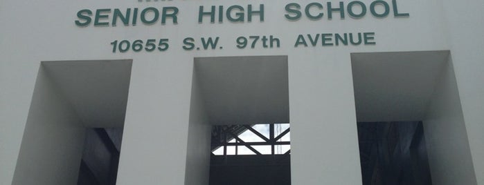 Miami Killian Senior High is one of Locations Discovered.