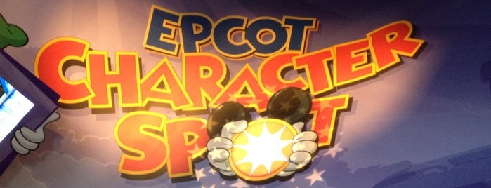 Epcot Character Spot is one of Walt Disney World.