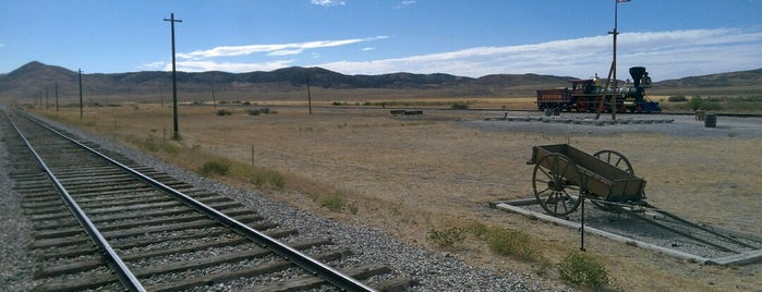 Golden Spike National Historical Site is one of Must Remember To Stop.