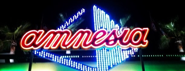 Amnesia Ibiza is one of it place.