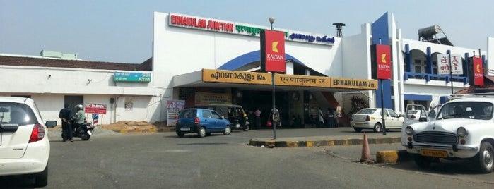 Ernakulam Jn Railway Station (ERS) is one of Kerala.