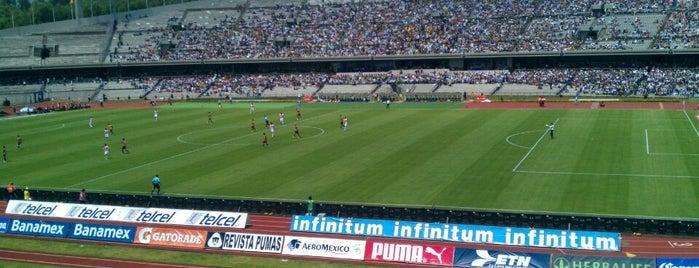 Estadio Olímpico Universitario is one of DF (La lista de mis ojos, paladar y oidos).