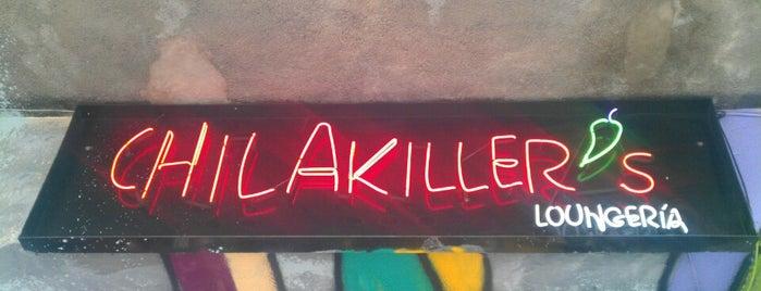 Chilakiller's is one of DF (La lista de mis ojos, paladar y oidos).