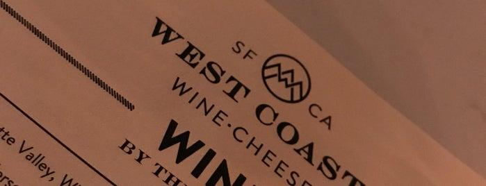 West Coast Wine • Cheese is one of SF Nightlife.