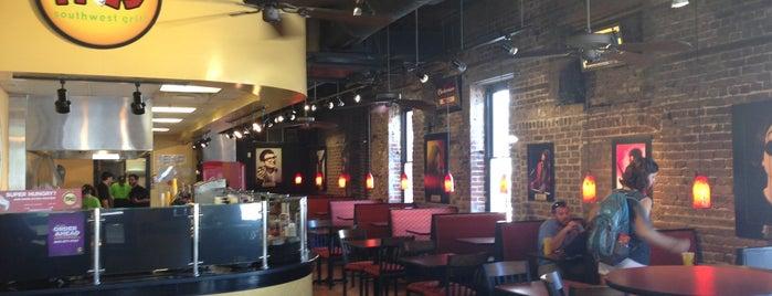 Moe's Southwest Grill is one of 20 favorite restaurants.