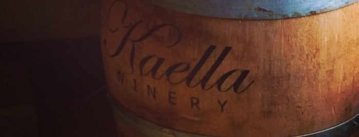 Kaella Winery is one of Woodinville Wineries.
