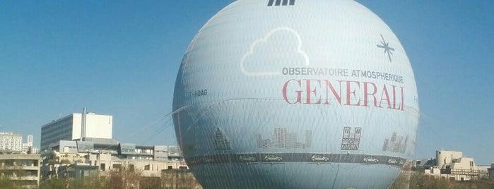 Ballon GENERALI de Paris is one of Bucket List ☺.