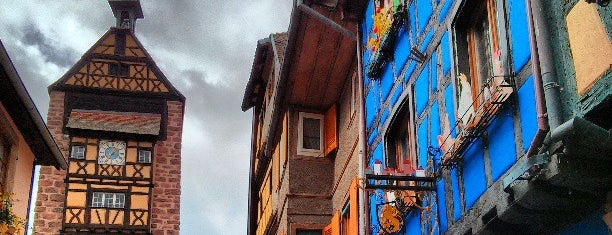 Riquewihr is one of Alsace.