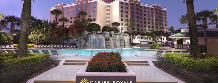Caribe Royale All-Suite Hotel & Convention Center is one of Places staid in Orlando.