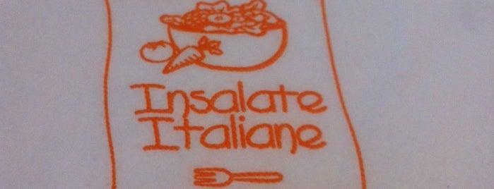 Insalate Italiane is one of Vegetariano.