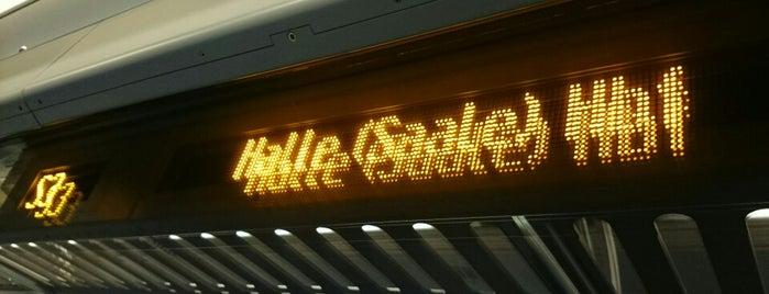 S3 Leipzig-Stötteritz ↔ Halle (Saale) Hauptbahnhof is one of Leipzig.