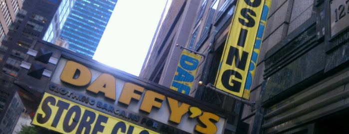 Daffy's is one of Guide to New York's best spots.