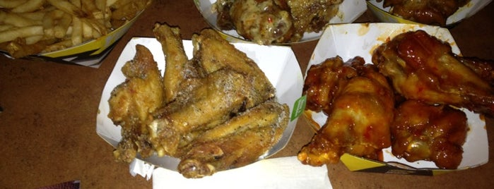Buffalo Wild Wings is one of EATS! -_-.