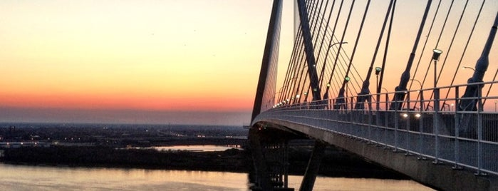 Arthur Ravenel Jr. Bridge is one of my charleston places.