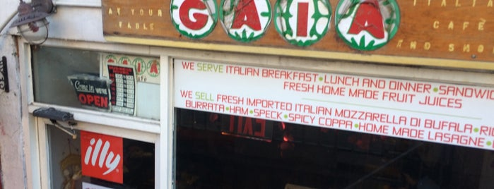 Gaia Italian Cafe is one of 11 Top BYOB Restaurants in Manhattan.