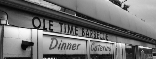 Ole Time Barbecue is one of Raleigh Favorites.