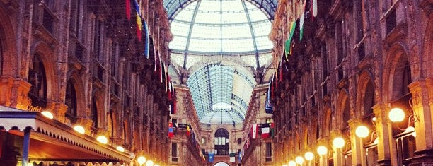 Galleria Vittorio Emanuele II is one of Milano.