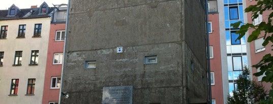 Gedenkstätte Günter Litfin is one of Innerdt. Grenze / Berliner Mauer - german border.