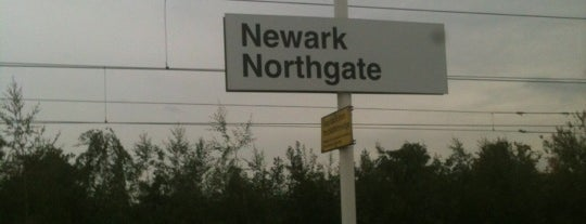 Newark North Gate Railway Station (NNG) is one of Railway stations visited.