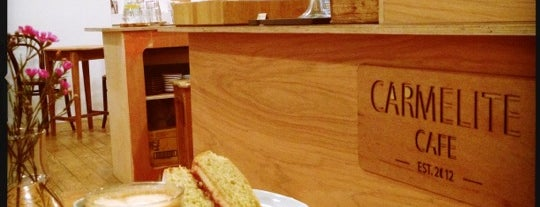 Carmelite Café is one of 100+ Independent London Coffee Shops.