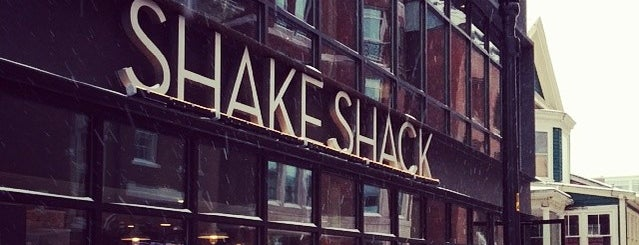 Shake Shack is one of Easy Lunch.