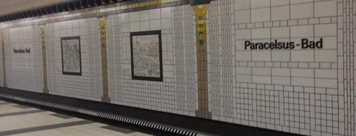 U Paracelsus-Bad is one of U-Bahn Berlin.