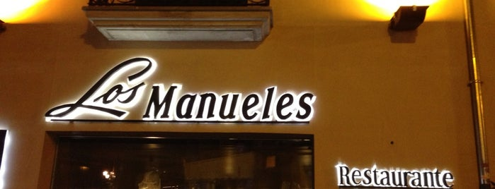 Restaurante Los Manueles is one of Top 10 favorites places in Granada, España.