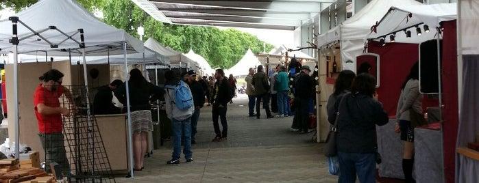 Portland Saturday Market is one of Dan's Portland.