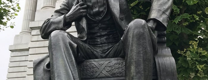 Abraham Lincoln Statue is one of San Francisco - May 2017.