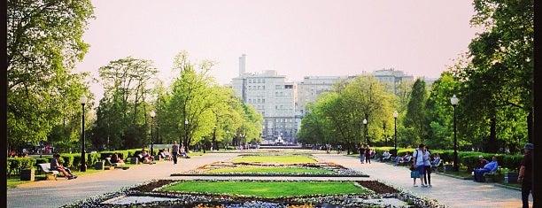 Репинский сквер is one of М..