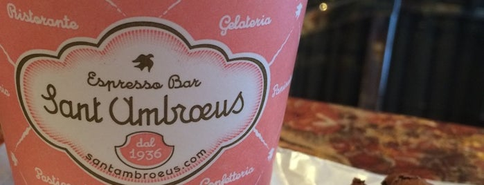 Sant Ambroeus Coffee Bar is one of NYC Manhattan 14th-23rd Sts.
