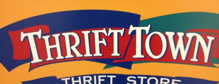 Thrift Town is one of Current Best Of San Antonio 2012.