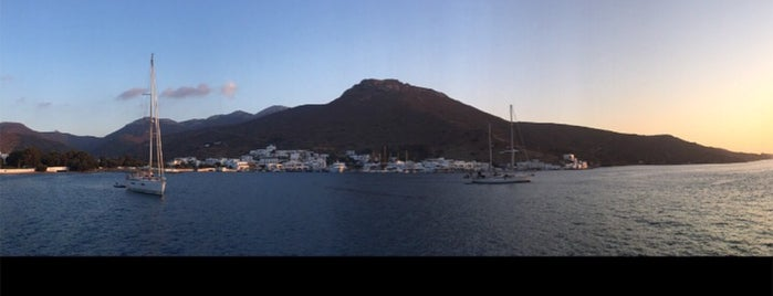 Amorgos Port is one of istiyorumgidicem!!.