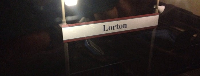 Lorton VRE Station is one of The Usual Places.