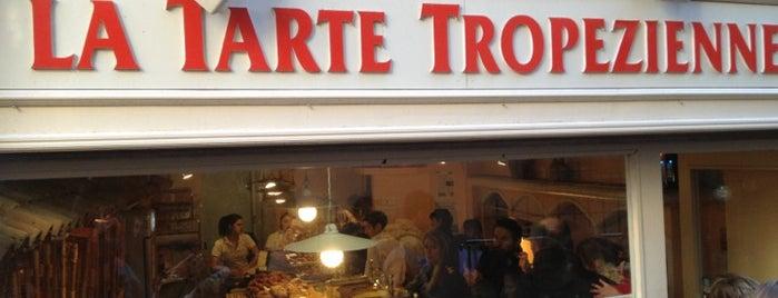 La Tarte Tropézienne is one of France.