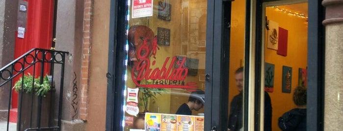 El Diablito Taqueria is one of Easy Villagey.