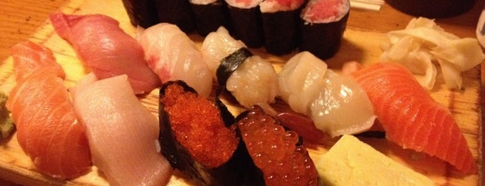 Tomoe Sushi is one of Hudson Square.